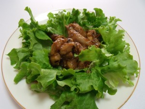 H26.2.26 鶏肉の豆鼓蒸し
