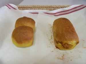 H26.3.27 かぼちゃのミニ食パン