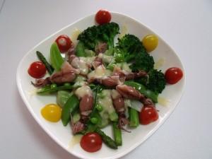 H26.4.30 春野菜の温野菜サラダ