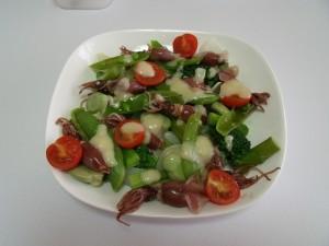 H26.4.26 春野菜の温野菜サラダ
