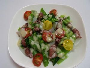 H26.4.29 春野菜の温野菜サラダ