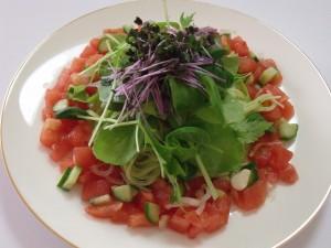 H26.8.26 夏野菜の冷製パスタ
