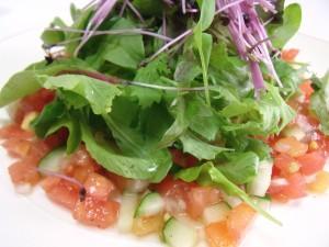 H26.8.23 夏野菜の冷製パスタ 2
