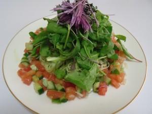 H26.8.25 夏野菜の冷製パスタ