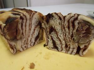 H26.11.30 マロンとチョコのパン 11