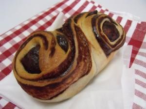 H26.11.30 マロンとチョコのパン 12
