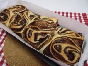H26.11.30 マロンとチョコのパン 5