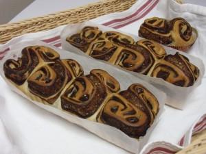 H26.12.24 マロンとチョコのパン 2
