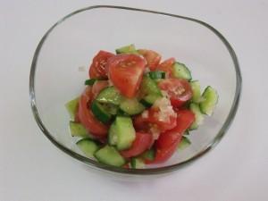 H27.8.9 トマトサラダ 1
