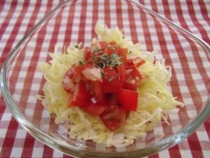 H28.4.20 春キャベツとトマトサラダ 1