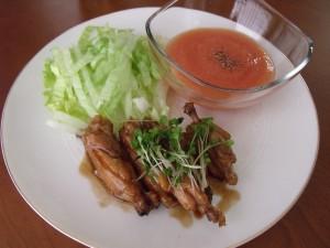 H28.8.24 鶏手羽中の甘酢煮 1