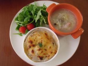 H29.11.14 里芋のチーズグラタンプレート 1