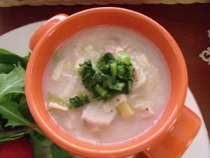 H29.12.9 冬野菜のミルクスープ 1