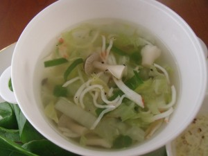 H30.11.13 白菜のスープ 1