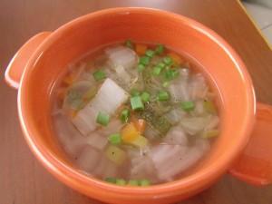 19.1.22 野菜スープ 2