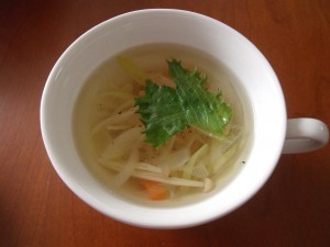 19.11.9 野菜スープ 1