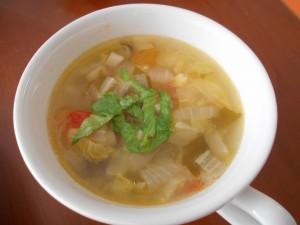 20.3.17 野菜スープ 1