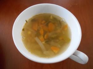 30.7.14 野菜スープ 1