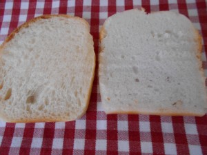 30.7.14 食パン・米粉パン比較 2