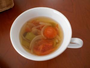 20.8.18 さっぱりスープ 1